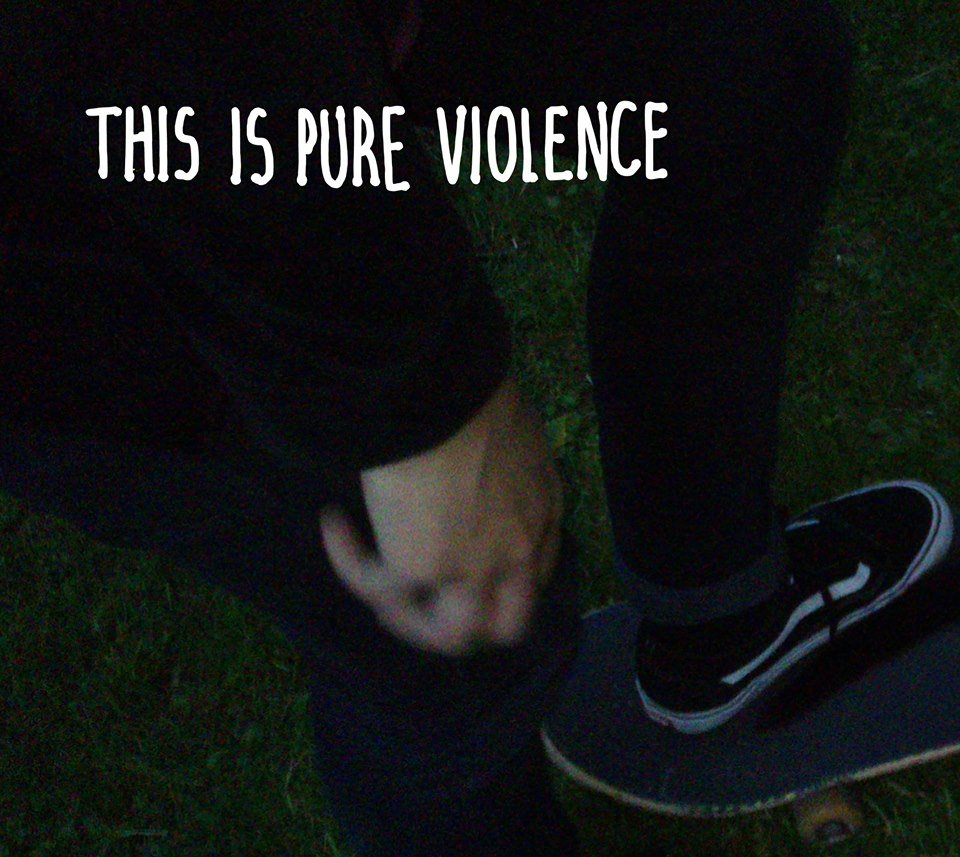 this is pure violence artwork